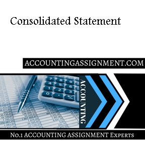 Consolidated Statement