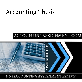Accounting Thesis