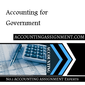 Accounting for Government