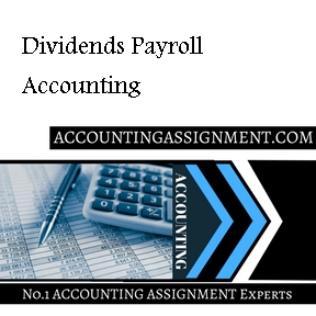 Dividends Payroll Accounting