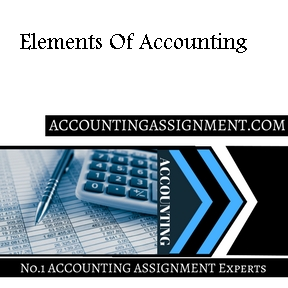 Elements Of Accounting