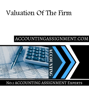 Valuation Of The Firm