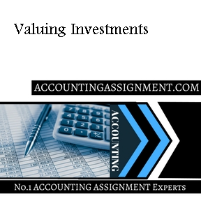 Valuing Investments